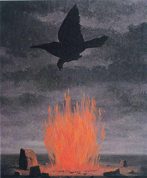 The fanatics, 1955 - René Magritte