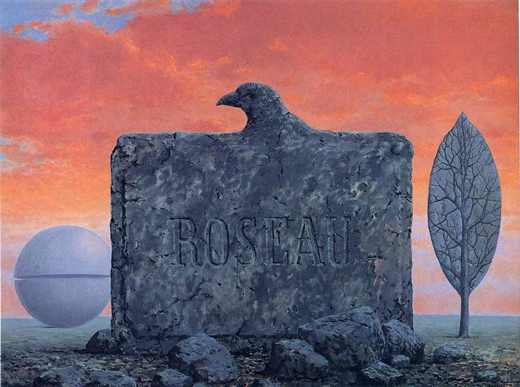The fountain of youth, 1958 - René Magritte