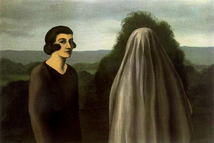 The invention of life, 1928 - Rene Magritte - WikiArt.org