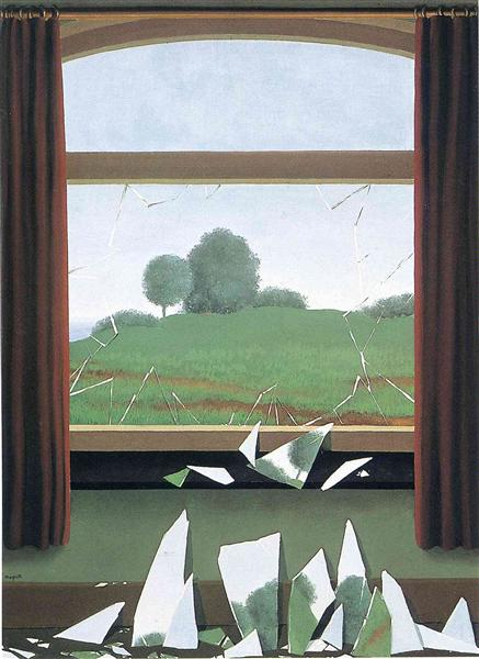 The Key to the Fields, 1936 - Rene Magritte