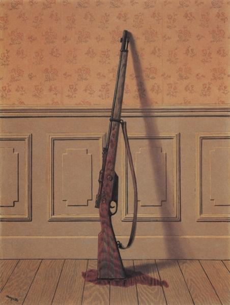The survivor, 1950 - Rene Magritte