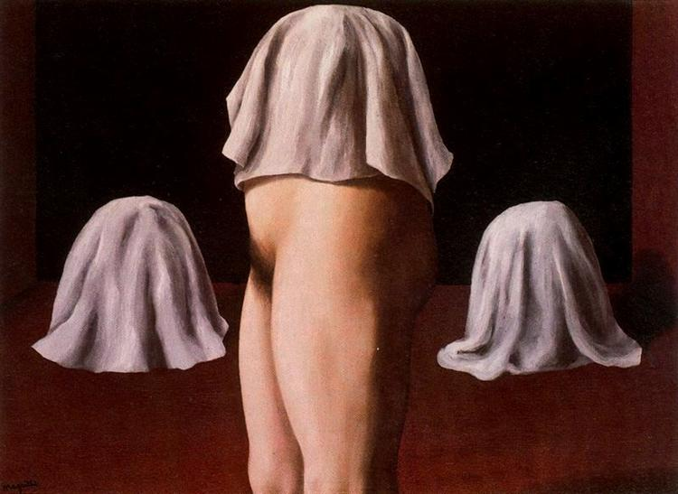 The symmetrical trick, 1928 - Rene Magritte