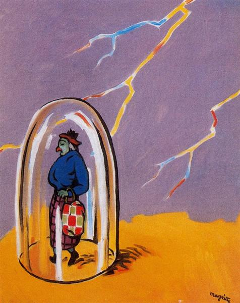 The tow plug, 1947 - Rene Magritte