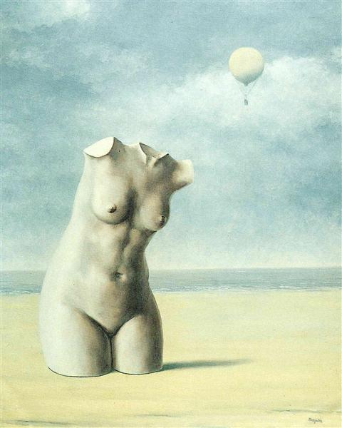 When the hour strikes, 1965 - René Magritte