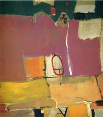 Albuquerque No. 4 - Richard Diebenkorn