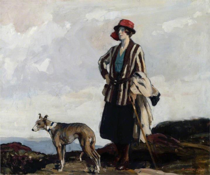 On the Moors - Richard Jack