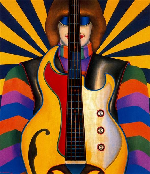 Rock-Rock, 1966 - Richard Lindner
