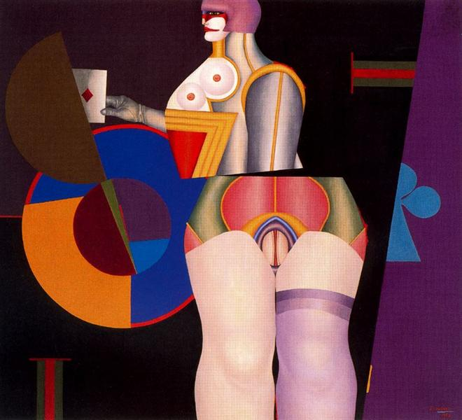 Solitaire - Richard Lindner