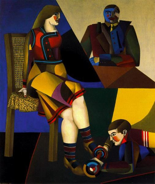 The table - Richard Lindner