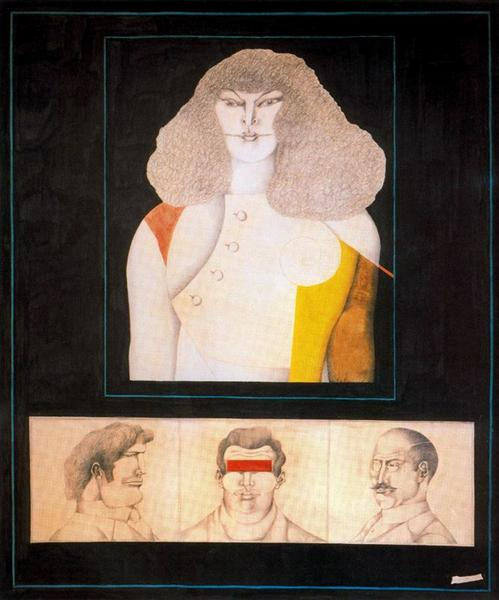 Three Und - Richard Lindner