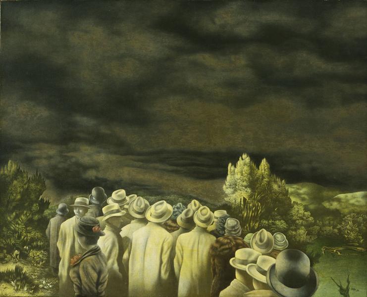 The Expectation, 1936 - Richard Oelze