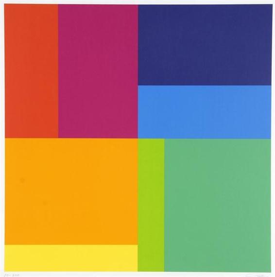Bewegung von acht Farben um eine Achse - Ріхард Пауль Лозе