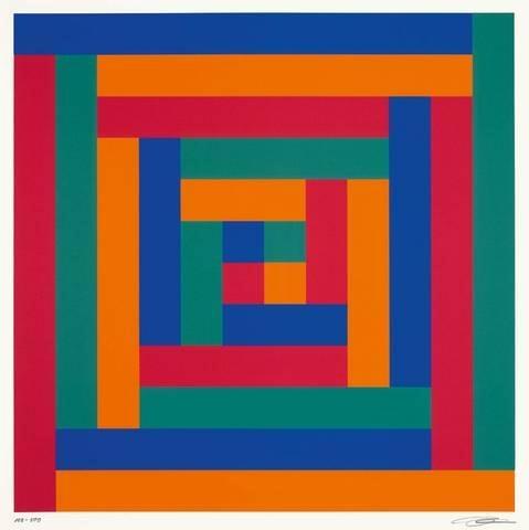 Progression von Sechs Gleichen Gruppen von 1-11, 1971 - Richard Paul Lohse