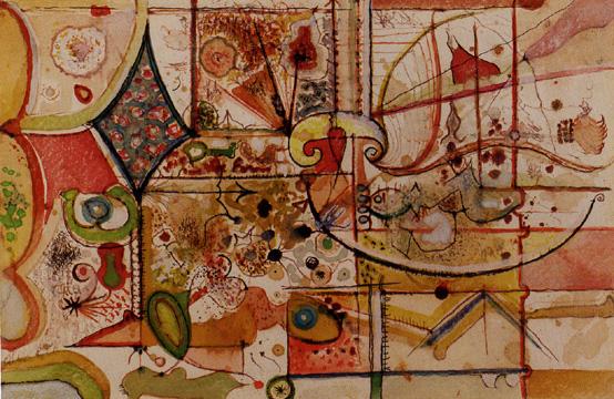 Untitled, 1946 - Richard Pousette-Dart