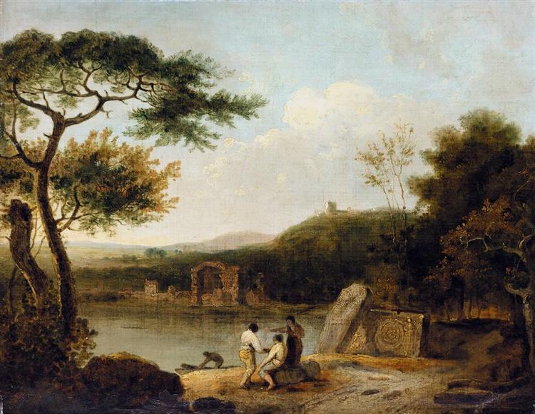 Lake Avernus I, 1765 - Richard Wilson