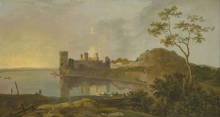 Summer Evening (Caernarvon Castle), 1765 - Richard Wilson