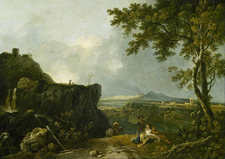 The White Monk, 1760 - Richard Wilson