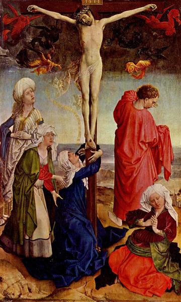 Crucifixion, c.1425 - Robert Campin
