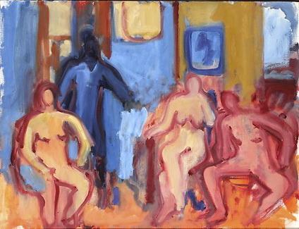 Four Figures, 1977 - Robert De Niro Sr.