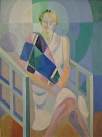 Ritratto di Madame Heim - Robert Delaunay