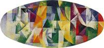 Finestre aperte contemporaneamente 1a parte, 3 ° motivo - Robert Delaunay