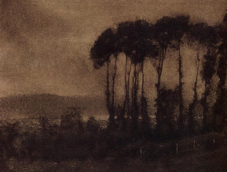 Touques Valley, 1906 - Robert Demachy