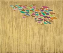 Colors on Tan - Robert Goodnough