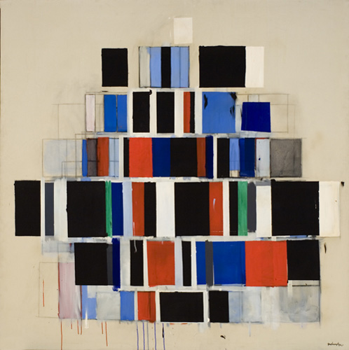 Large Rectangles Large, 1965 - Robert Goodnough