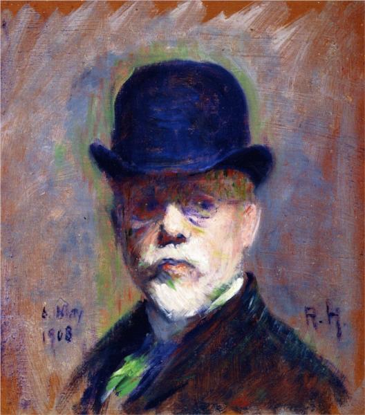Self-Portrait, 1908 - Роберт Харріс