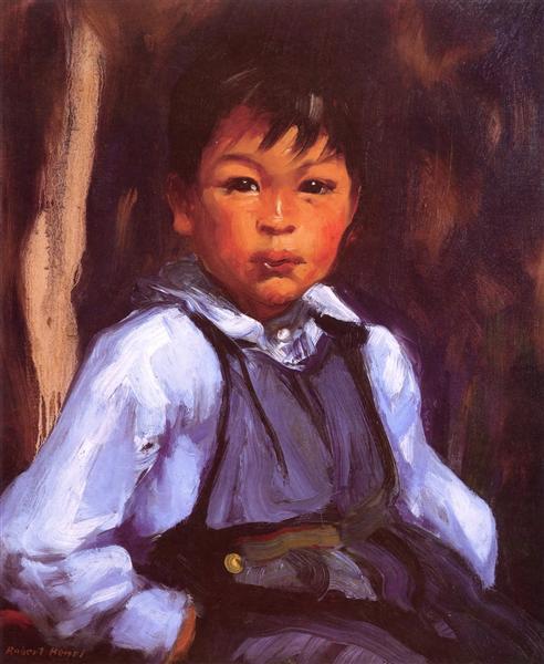 A New Mexico Boy, 1916 - Роберт Генри