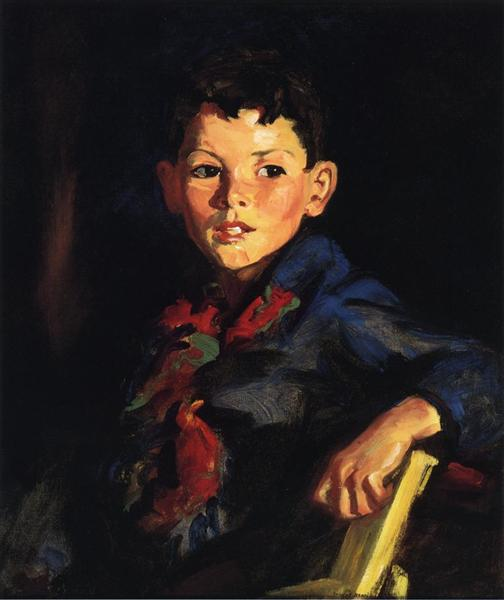 Irish Boy (Thomas Cafferty), 1925 - Robert Henri