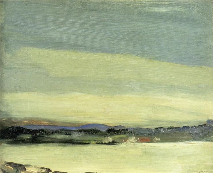 Leunkin Bay, June, 1903 - Robert Henri