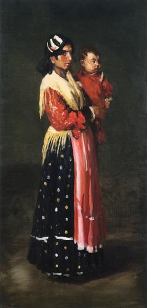 Maria y Consuelo, 1906 - Robert Henri