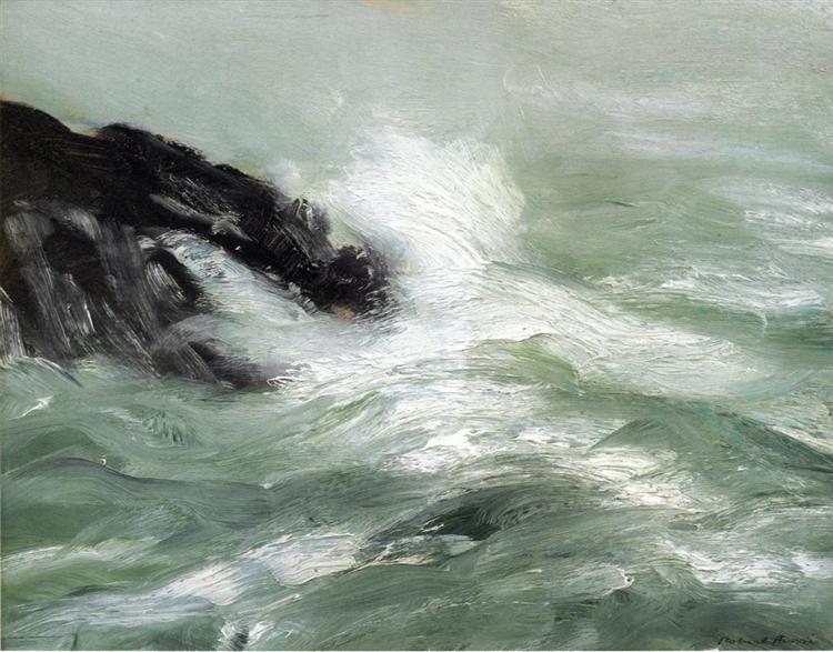Marine - Storm Sea, 1911 - Robert Henri