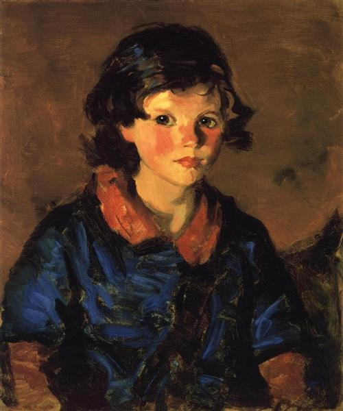 Mary Ann Caferty, 1928 - Robert Henri