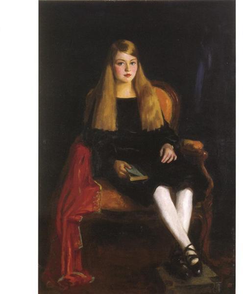 Portrait of Anne M. Tucker, 1926 - Роберт Генрі