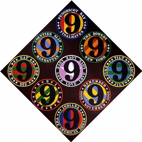 The Ninth American Dream, 2001 - Robert Indiana