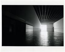 Scrim veil/Black rectangle/Natural light (Whitney Museum of American Art, New York) - Robert Irwin