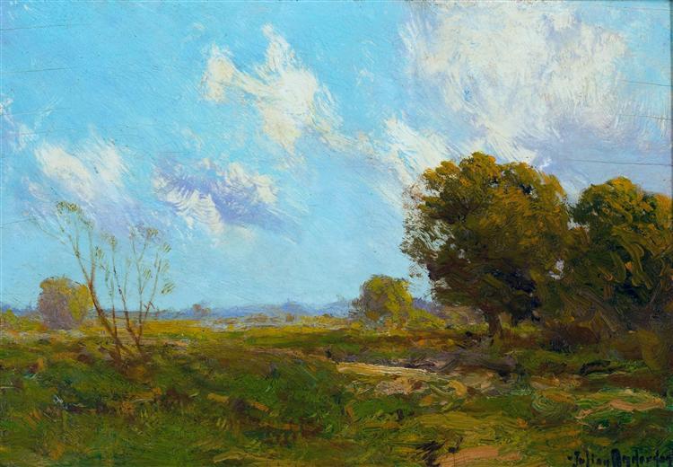 Late Afternoon, 1909 - Robert Julian Onderdonk