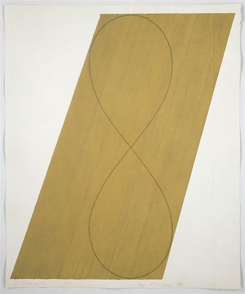 Study Attic Series VIII, 1990 - Robert Mangold