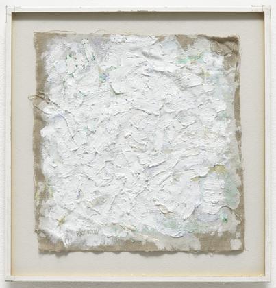 Untitled, 1961 - Robert Ryman