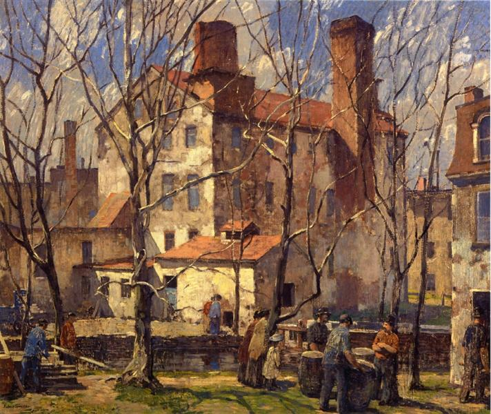 A Day in March, 1918 - Robert Spencer