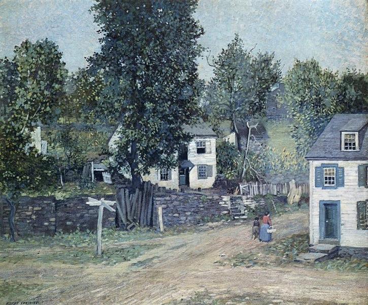 The Crossroads, 1909 - Robert Spencer
