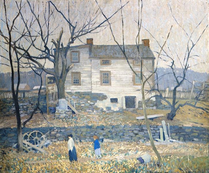 The Gray House, 1910 - Robert Spencer
