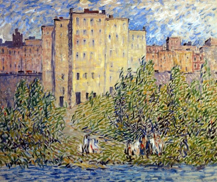 The Upper City, 1927 - Robert Spencer