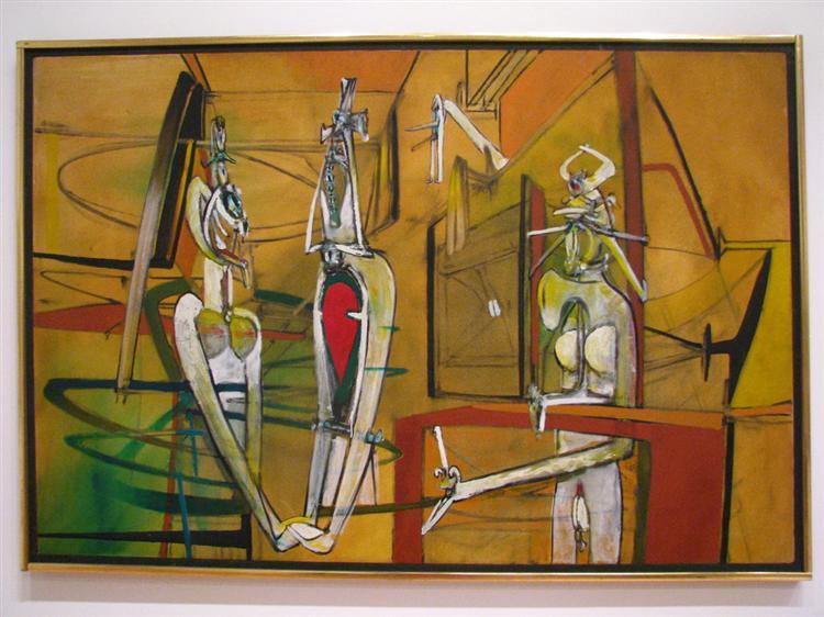 Chamboles les amoureuses, 1947 - Roberto Matta