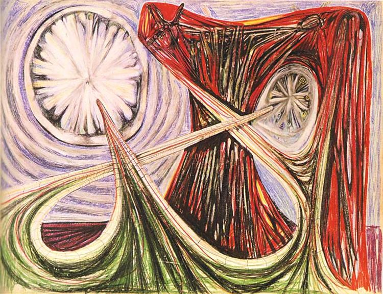 Space Travel (Star Travel), 1938 - Roberto Matta