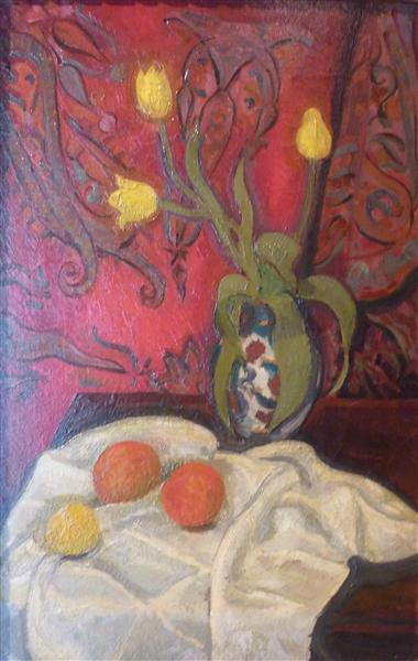 Yellow tulips, 1910 - Roger de La Fresnaye