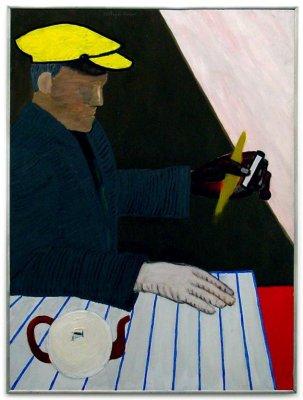 Man in yellow cap, 1952 - Roger Raveel