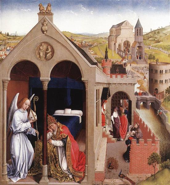 Dream of Pope Sergius - Rogier van der Weyden